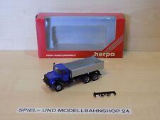 "Herpa 143523, Iveco Hauber, ""Neutral"", Kipper LKW, Neuw. Vitrinenm. OVP"