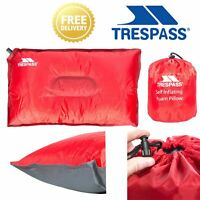 Trespass Travel Foam Pillow Self Inflating Cushion For Camping Powernap