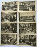 Vintage Royal Mint postcards 1930s Eight Postcards