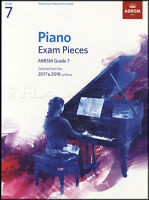 ABRSM Piano Exam Pieces 2017 2018 Syllabus Grade 7 Sheet Music Book Tests Songs