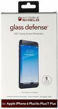 ZAGG invisibleSHIELD Glass Defense iPhone 8 Plus 7 Plus 6s Plus 6 Plus Clear