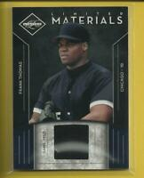 Frank Thomas 2011 Leaf Limited Materials Relic #'d / 499 Chicago White Sox HOF