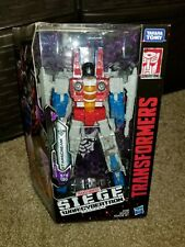 Transformers SIEGE WFC Earthrise STARSCREAM NIB Netflix series VOYAGER