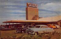 Postcard Hotel Sahara in Las Vegas Nevada~118235
