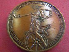 1967 80th National AAU Convention Antique Bronze Souvenir Mardi Gras Doubloon