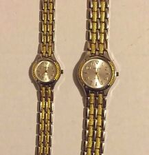 Geneva Quartz His and Hers Watches Never Worn: 2 watches *** Free Shipping ***