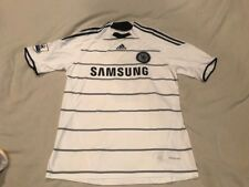 Chelsea 2009-2010 Third Football Shirt #2 Ivanovic Size L Jersey Adidas Soccer