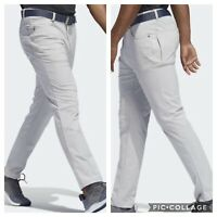 NEW! Adidas Adicross 5 Pocket Tapered Golf Pants - Gray - Pick Size