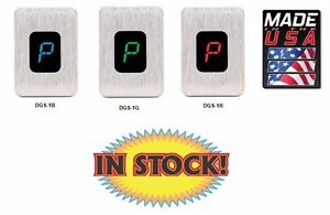 Dakota Digital DGS-1R - Digital LED Gear Shift Indicator - Red