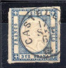 FRANCOBOLLI ANTICHI STATI 1861 NAPOLI 2 GRANA IN COPPIA N° RIF 6239