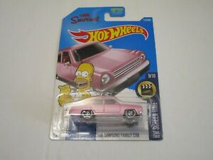 Mattel Hot Wheels The Simpsons Family Car HW Screen Time 9/10 112/365