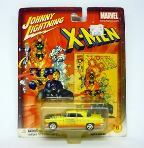 JOHNNY LIGHTNING UNCANNY X-MEN #356 '55 CHRYSLER C-300 Die-Cast Car MOC 2002