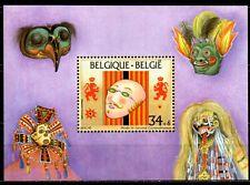 Musée du carnaval de BINCHE - bloc 70 - 20% en dessous du prix poste.