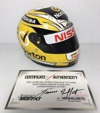 Mini Helmet 1:2 Scale Replica Model James Moffat 360 Nissan Limited Edition