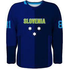 NEW 2019 Slovenia Team Europe Hockey World Cup Fan Jersey Blue NHL KOPITAR