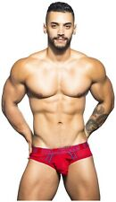 NWOT Andrew Christian Blow! Brief mesh  X-Large Red