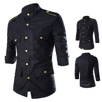 Hot sale air force gold epaulettes with three-quarter sleeve men skirt