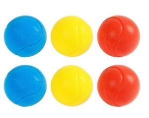6x Soft Foam Tennis Balls Baby Kids Sponge Practice Play Squeeze Toy Playball
