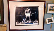 Muhammad Ali Vs Sonny Liston 1965 Autograph Certified Matted Framed 24x30