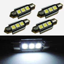 10X36mm 3SMD 5050 C5W CANBUS Error Free LED Bulb License Plate Dome Light New