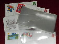 250 POCHETTES PLASTIQ. LETTRES/OBLIGATIONS 120 x 225 mm