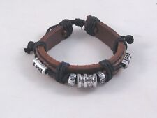 New Leather Guys Surfer Style Celtic Type Bracelet #B1278