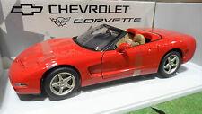 CHEVROLET CORVETTE cabriolet 1998 rouge 1/18 d UT Models 21006 voiture miniature