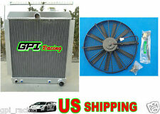 5 ROW 1948-1954 Chevy Pickup Truck Aluminum Radiator AT MT 1949 50 51 1952 + FAN