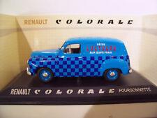 RENAULT COLORALE Break LUSTUCRU 1/43 d Norev 519185 voiture miniature collection