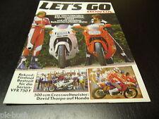 Information Let`s Go Honda 1986 Honda CBR 1000 F / CBR 600 F 4 Zylinder