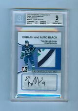 TYLER SEGUIN 09-10 IN THE GAME AUTO EMBLEM PATCH SP /6 BGS 9 10 STARS