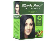 5 x 50GM Black Rose Kali Mehandi (Black Hair Dye Henna Powder)