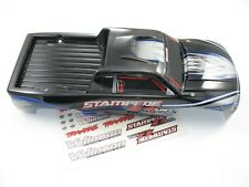 NEW SILVER TRAXXAS STAMPEDE 4X4 PAINTED BODY