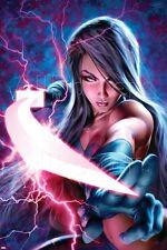 Marvel X-Men: Sword of the Braddocks No. 1: Psylocke Poster - 24x36