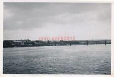 Foto, II/IR.42, zerstörte Eisenbahnbrücke bei Vernon, Frankreich 1940 (N)19843