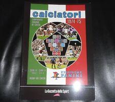 La Raccolta Completa Degli Album Panini 1974 1975 Gazzetta Dello Sport Figurine
