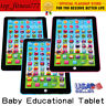 Baby Tablet Educational Toys Girls Toy For 1-6 Year Old Toddler Learning English