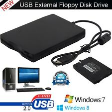 3.5″ Portable USB 2.0 External Floppy Disk Drive 1.44MB For Laptop PC Win 7/8