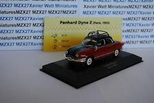 Car panhard dyna z taxi paris 1953 1/43 EME taxi du monde ixo altaya