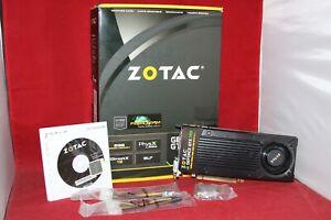 Zotac Nvidia GeForce GTX 760 2GB 256BIT GDDR5, PCI Express Graphics Card.