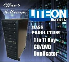 BRAND 1 to 11 CD DVD Duplicator Tower LiteOn Burner Mass Production