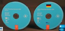 Adobe Photoshop Elements 2020 Media-Kit Installations-DVDs Windows / Mac OS NEU