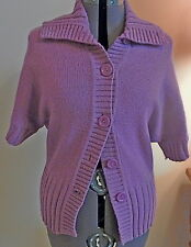 CARDIGAN/SWEATER/SHRUG by Sonoma-Size M-Lilac/Purple Color-Short Sleeves