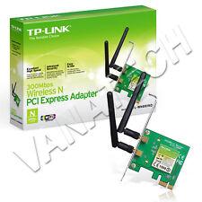 SCHEDA DI RETE INTERNA WIRELESS TP-LINK PCI-E TL-WN881ND 300MBPS WIFI 2 ANTENNE