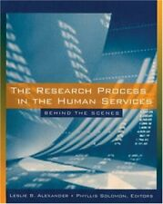 Research Process in the Human Services : Behind the Scenes by Alexander, Leslie
