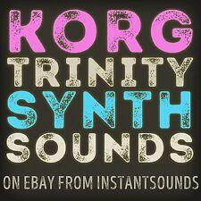 KORG TRINITY Synth SOUND Reason Wav Kontakt Akai akp Refill SAMPLE Soundfont NOW