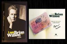 BRIAN WILSON SIGNED on title page - I AM BRIAN WILSON from Book Soup, w/ Card! 6