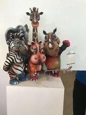 Carlos and Albert ceramic sculpture Selfie (5) numbered
