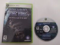 Peter Jackson's King Kong The Official Game of Movie Xbox 360 NO MANUAL Tested