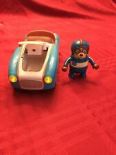 Special Agent Oso Go Go Race Car Lights And Sounds With Figure #2